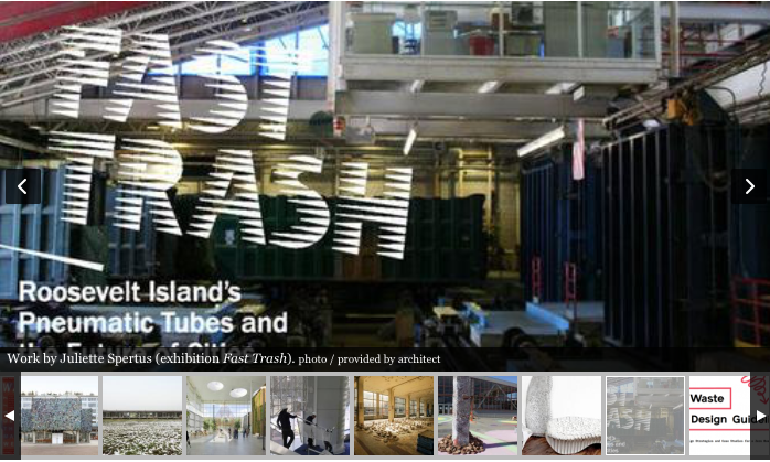 Wasted: Trash Talks: Design for the End of Material as We Know It