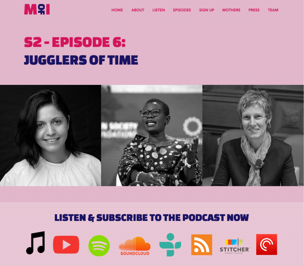 Mothers of Invention Podcast: Jugglers of Time