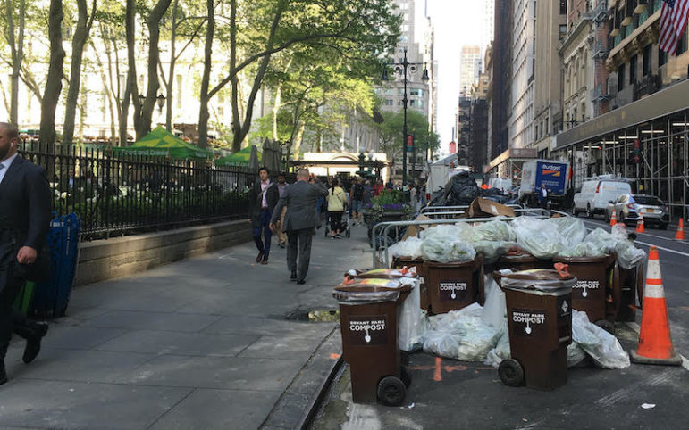 Redesigning an affordable organic waste system for NYC to improve public space, health and equity